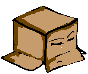 300x250 An Uncaring, Upsidedown And Empty Box