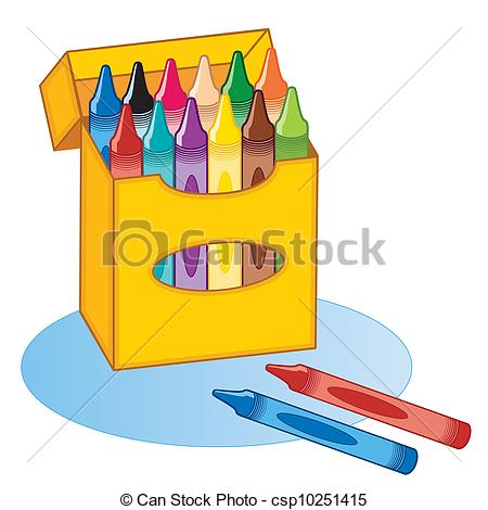 450x470 Big Box Of Crayons In 12 Colors For Back To School, Home
