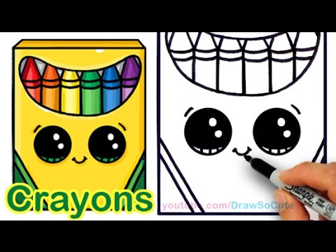 480x360 How To Draw A Crayon Box Cute And Easy Step By Step