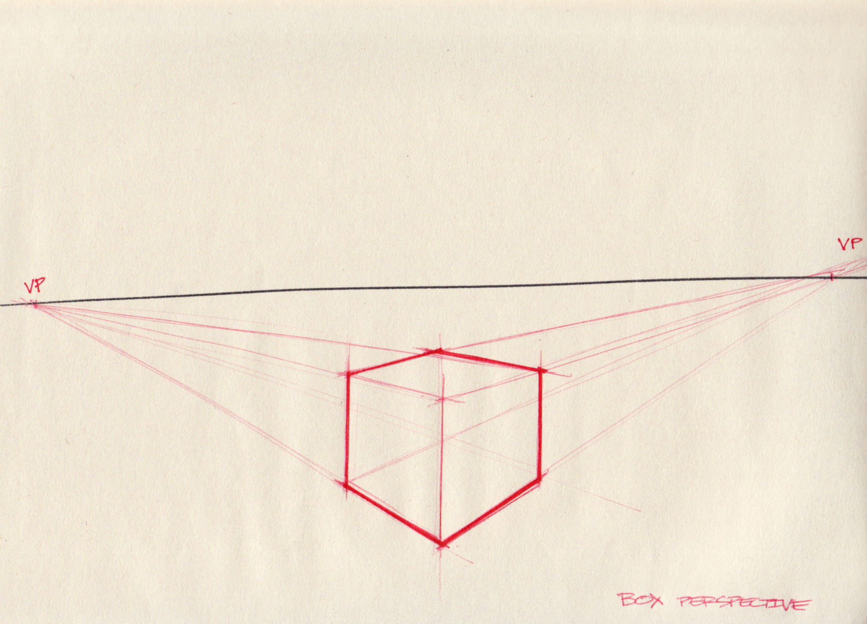 1737x1250 Quick Box Perspective Demo Lineweights