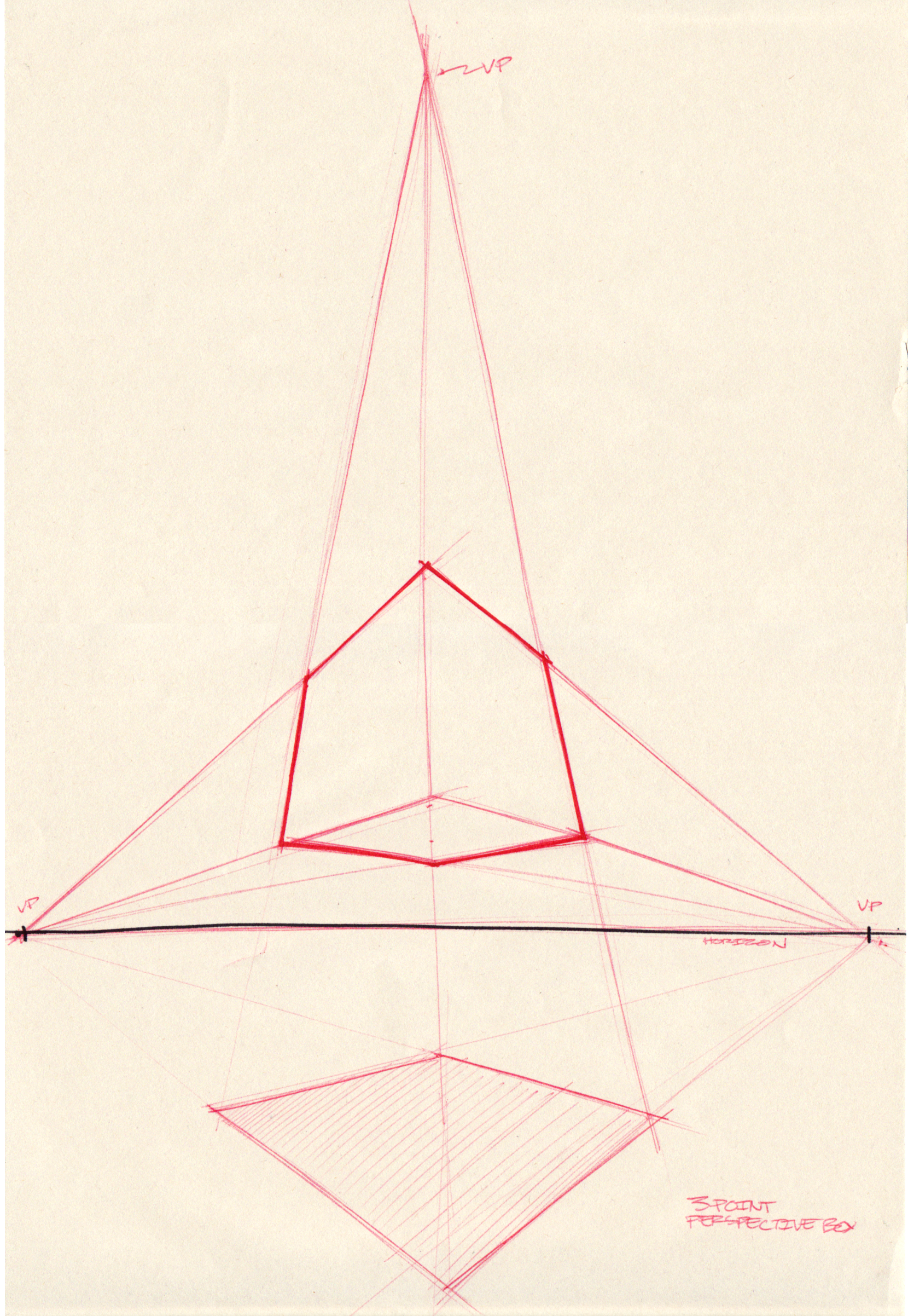 1660x2404 Resultado De Imagem Para 3 Point Perspective Drawing Worms Eye