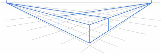 524x177 Two Point Perspective Perspective Animation Tutorials