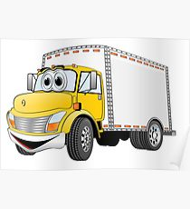 210x230 Box Truck Drawing Posters Redbubble