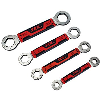 355x355 Skil Secure Grip Self Tightening Box Wrench Set