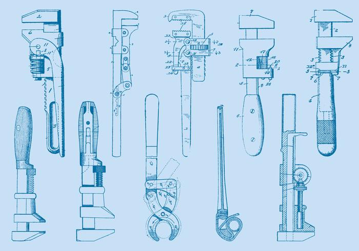 700x490 Wrench Free Vector Art