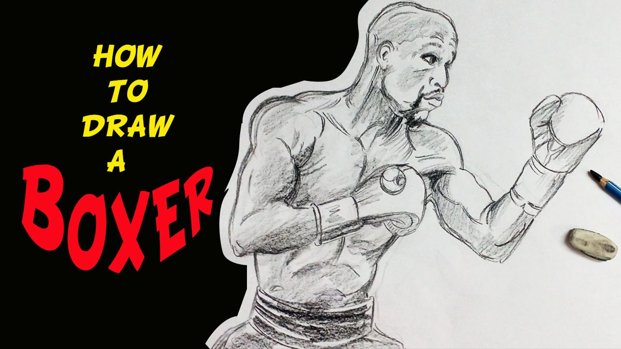 1280x720 How To Draw A Boxer (Sports)
