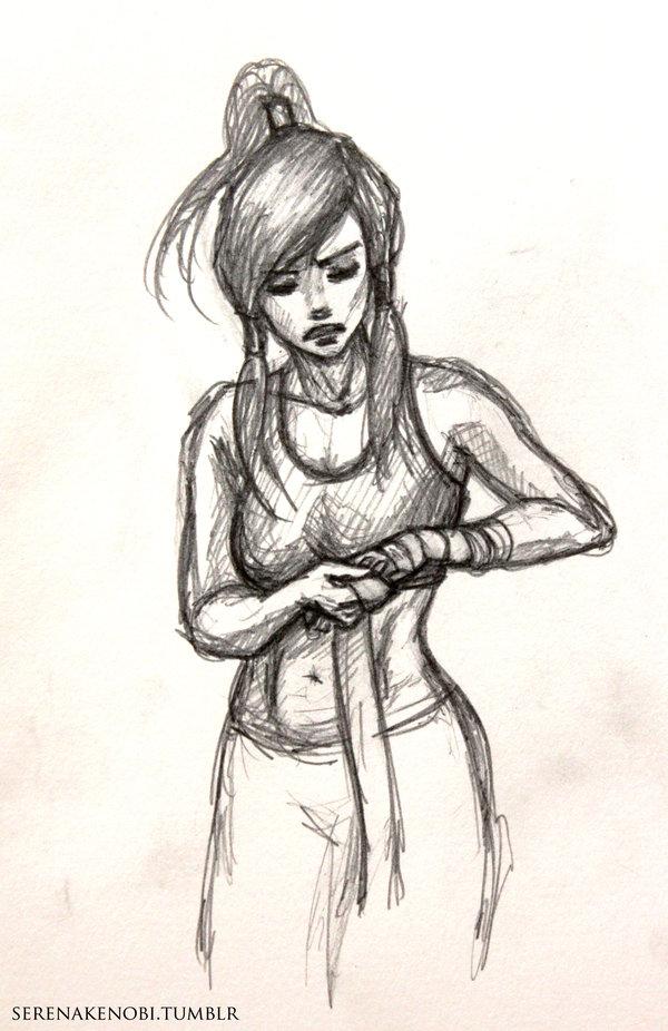 600x926 Korra sketch