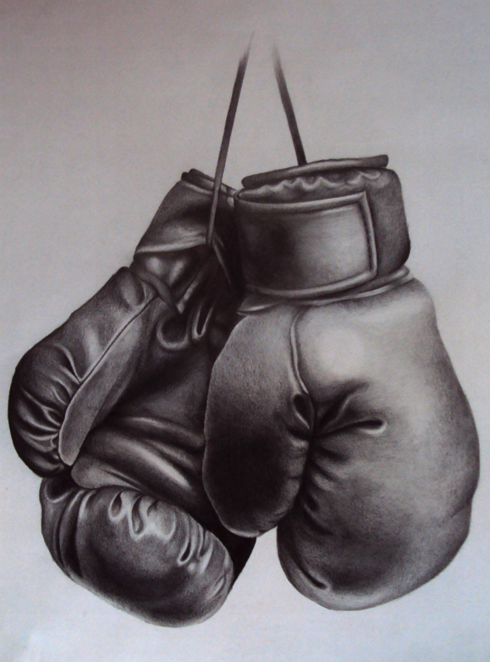 1600x2160 Boxing Gloves By On @ Tattoo