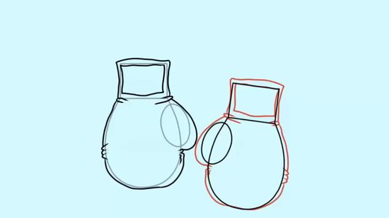 550x309 How to Draw Boxing Gloves 7 Steps (with Pictures)