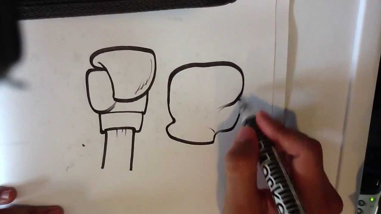 1280x720 How to Draw a Boxing Glove