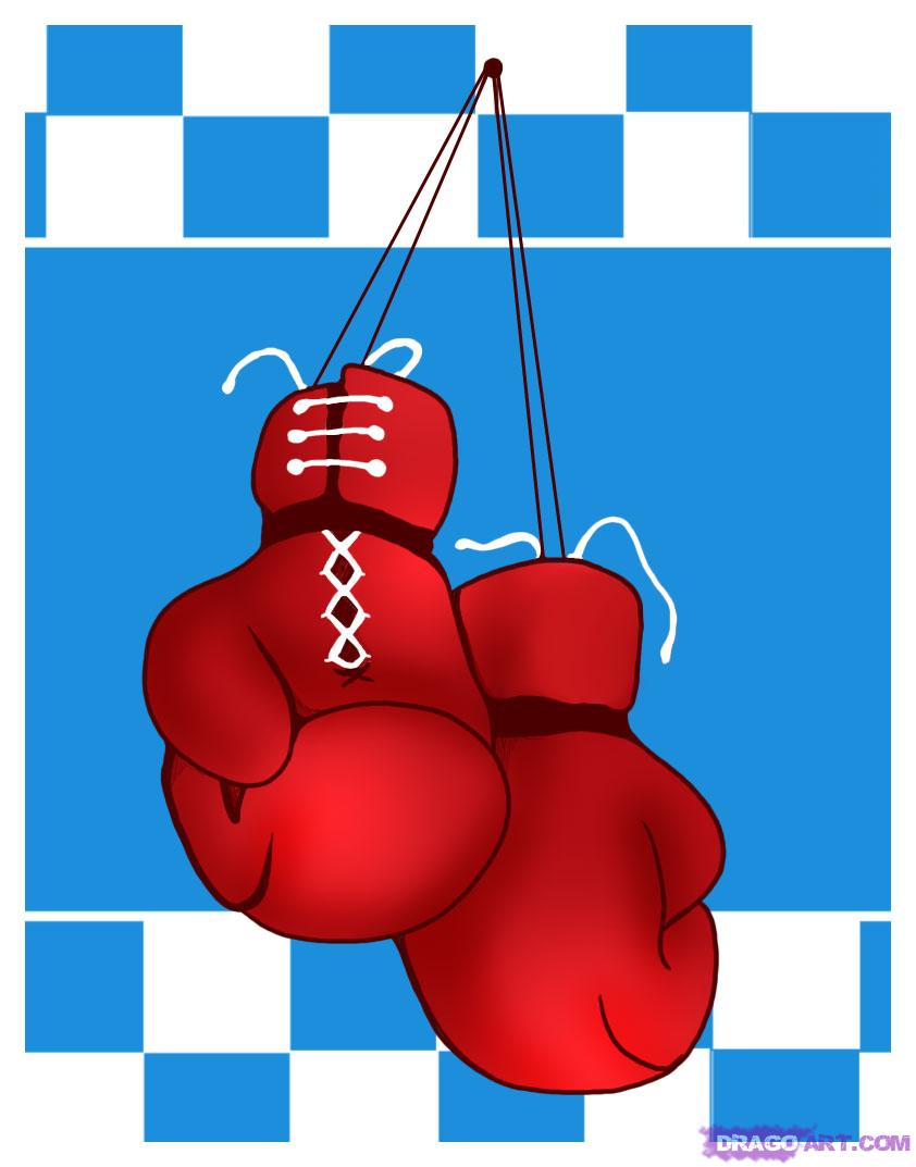 842x1073 Boxing Glove Drawing How To Draw Boxing Gloves, Stepstep, Sports