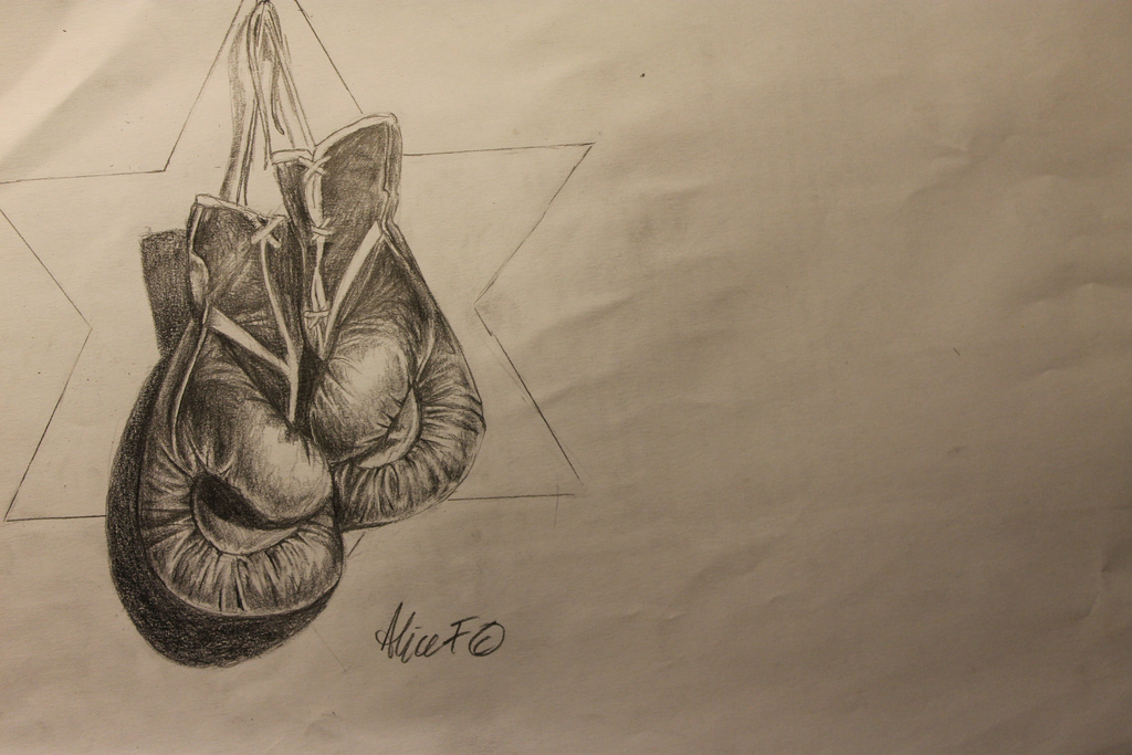 1024x683 Drawing Of Boxing Gloves For World Literature (Berlin,