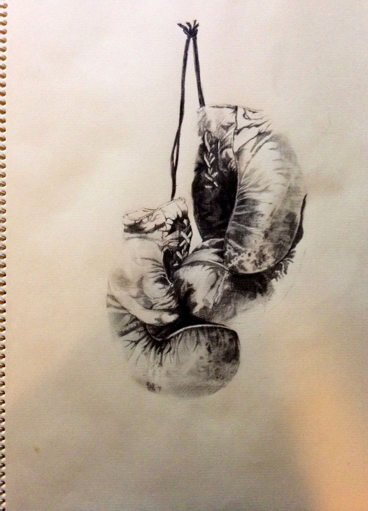 736x1021 Drawings Of Boxing Gloves
