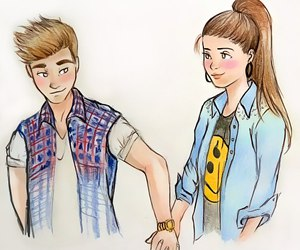 300x250 121 images about boy and girl sketches on We Heart It See more