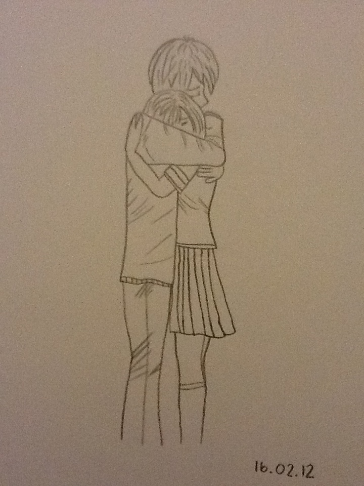 1224x1632 drawings of boys hugging 720x960 girl and boy hugging by crissarush on deviantart