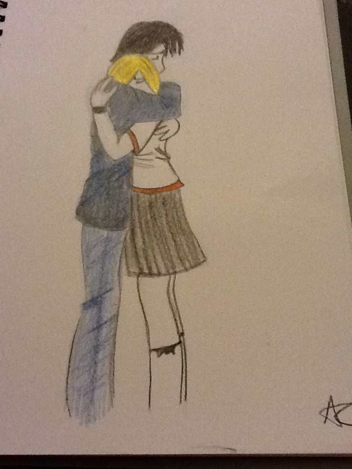 720x960 Manga boy and girl hugging by AlexCliffy92 on DeviantArt