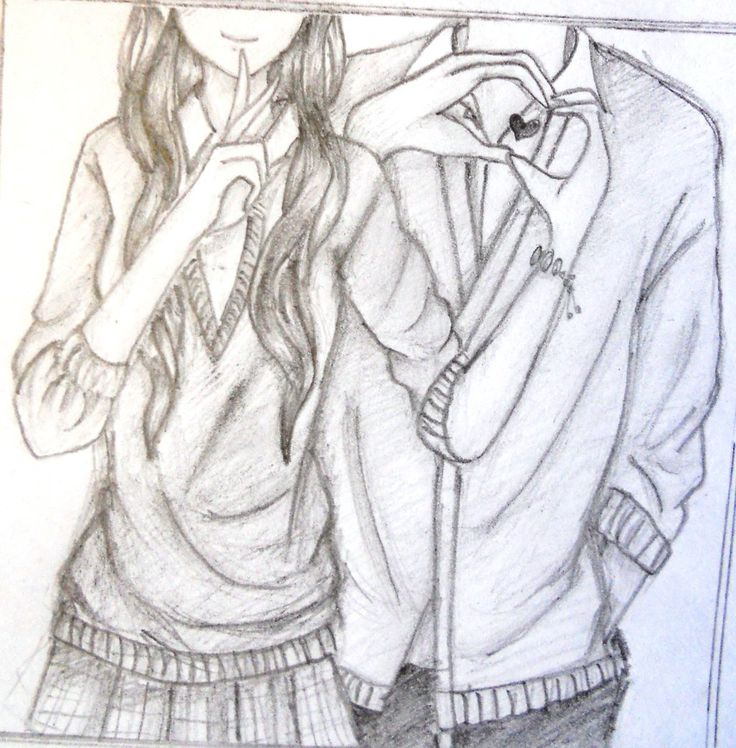 736x748 Pictures Sketches Of Girls And Boys Together,