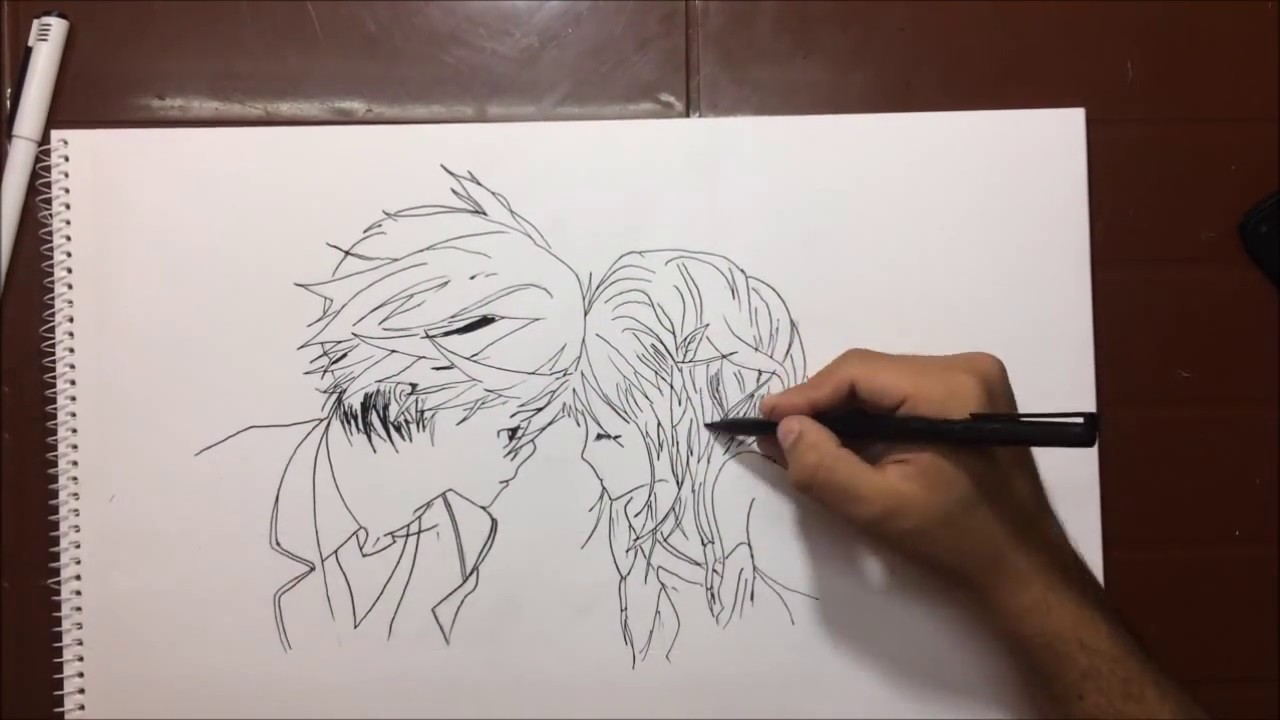 1280x720 Boy Girl Couple Love Sketch And Drawing . Must See Pencil