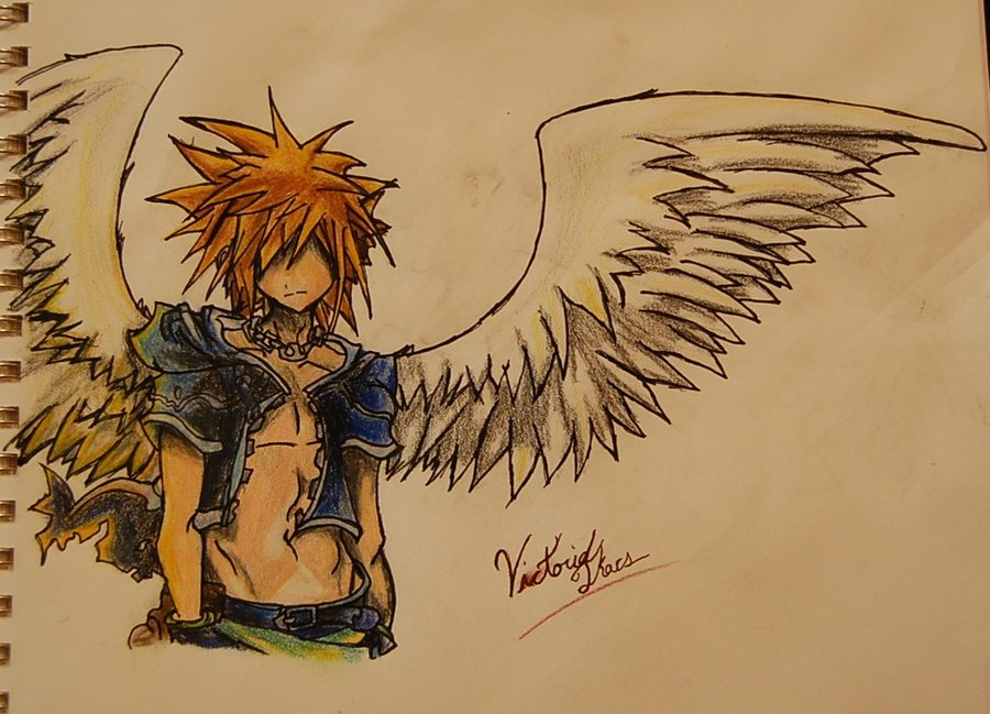 900x649 Angel Boy. By Ladyburrfoot