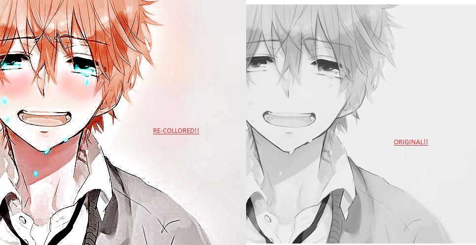 967x498 Anime Boy Crying By Izaya Freak