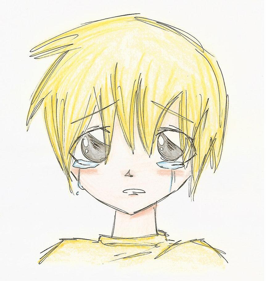 879x910 Crying Boy By Sox4eva