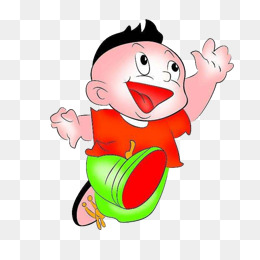 260x260 Vector Drawing Smiling Face Running Boy, Draw, Smiley Face, Run