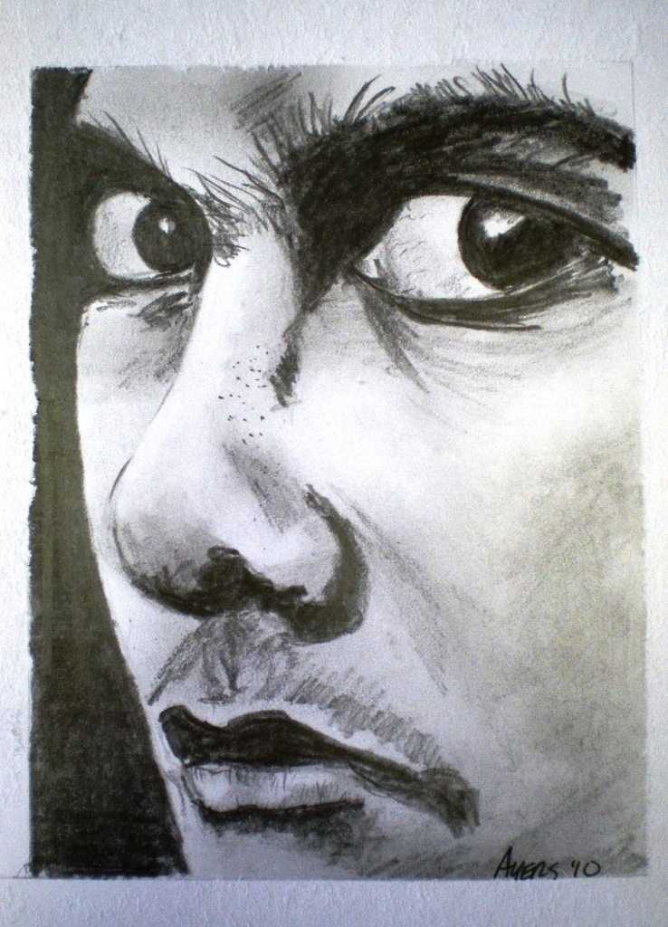 738x1024 Pencil Sketch Boy's Face Creations Of Mike Ayers