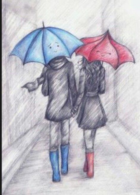 471x658 Cute Boy And Girl Drawing