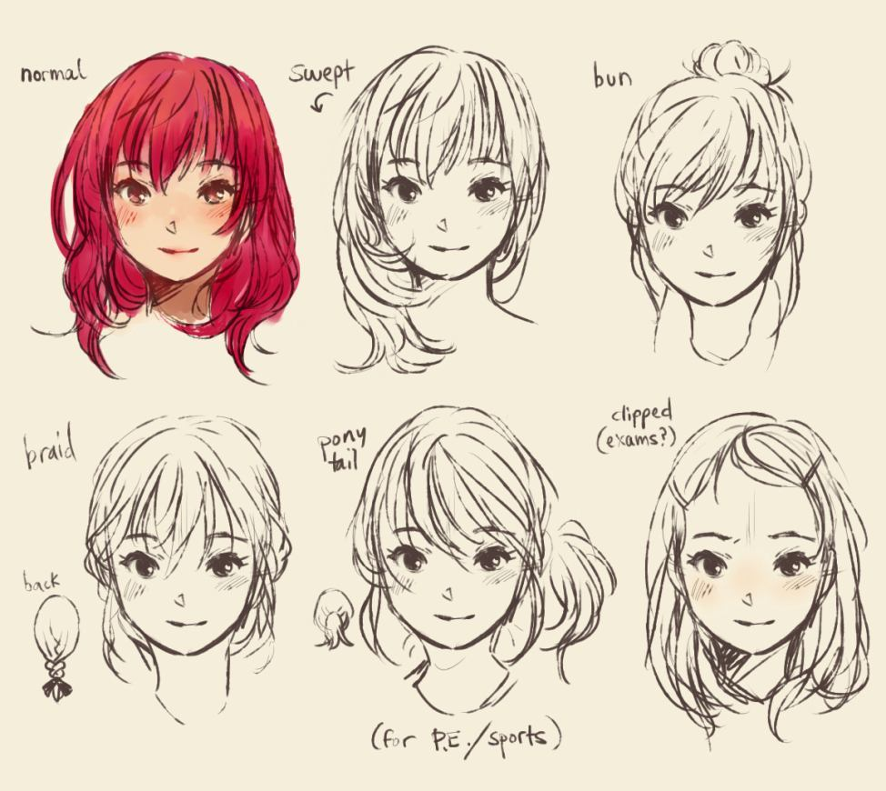 974x870 Anime Boy Hairstyles