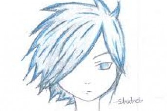 343x228 Anime Boy Hairstyles Drawings