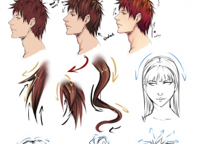 300x210 Anime Guy Hairstyles Drawing Best Anime Boy Hairstyles Ideas