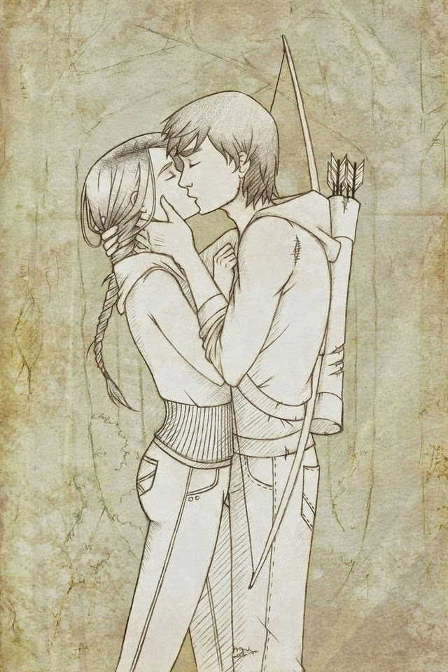 640x960 Pencil Sketches Of Couples And Friends Kiss ~ Zizing Part Iii Zizing