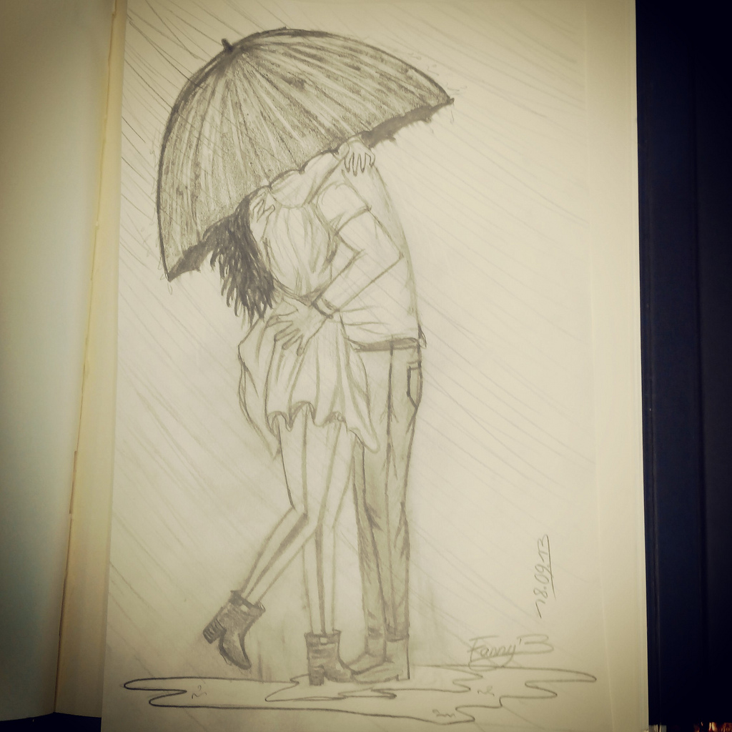 Boyfriend And Girlfriend Drawing at GetDrawings.com | Free ...