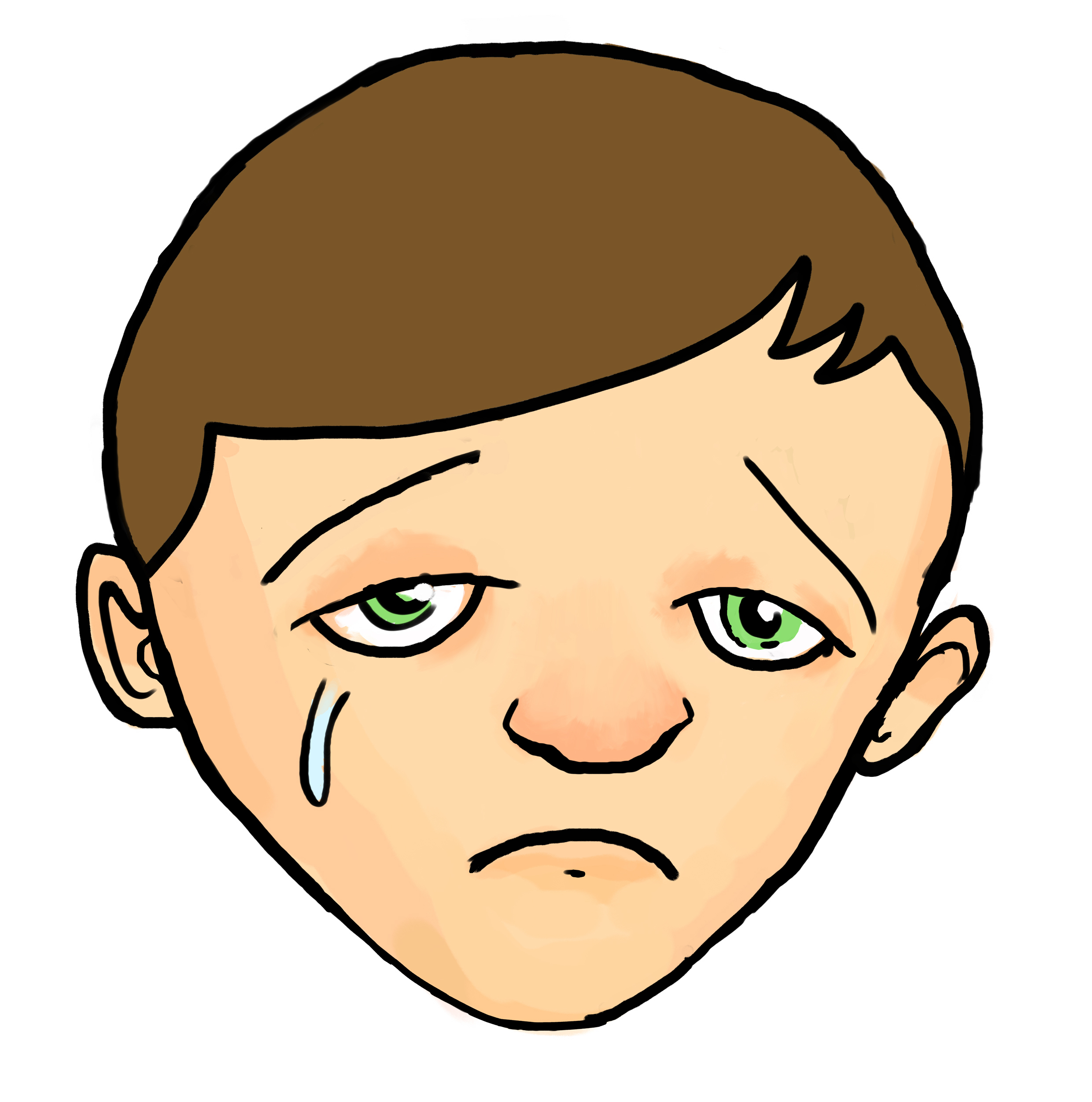 2480x2501 Cartoon Sad Boy Face Drawing Anime Boys Sad Face Sad Anime Boy