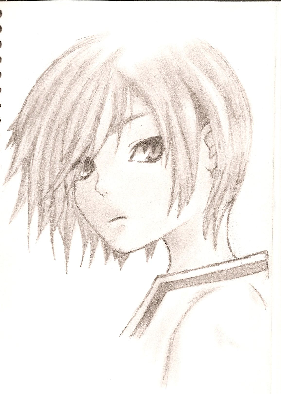 1155x1617 Anime Boy Drawing