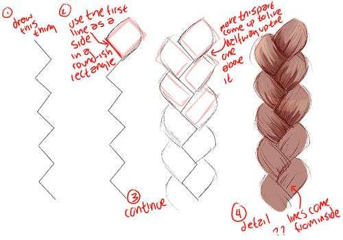 500x350 Lilacroses Images How To Draw A Braid Wallpaper And Background