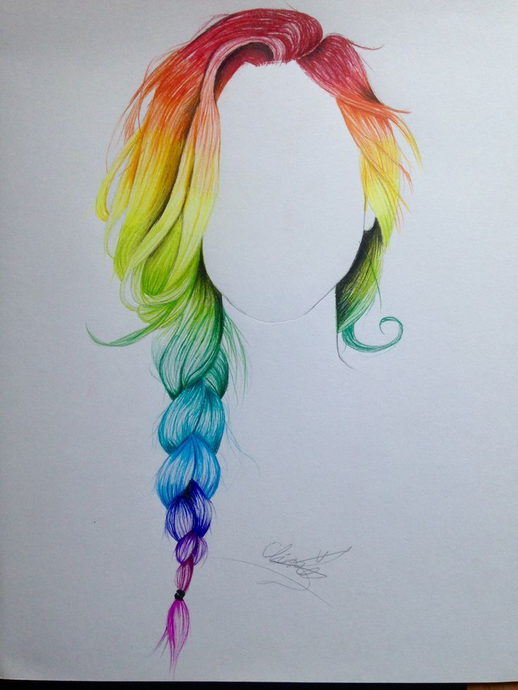 736x981 Pictures Draw Braided Hair Pencil,