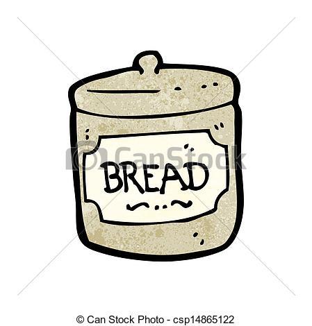 449x470 Bread Basket Cartoon Vector Illustration