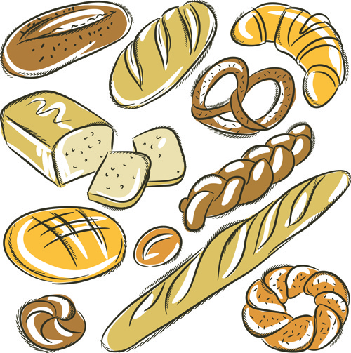 500x503 Hand Drawing Bread Vector Free Vector In Encapsulated Postscript
