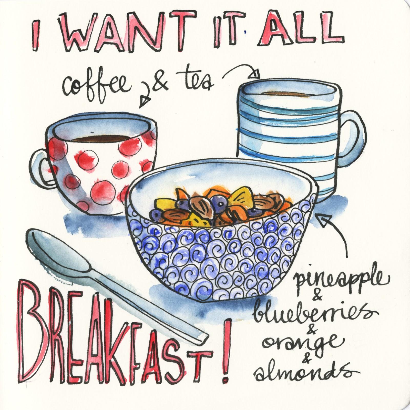 1600x1600 Art During Breakfast
