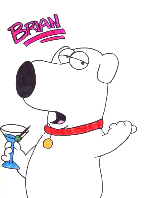 600x800 Brian Griffin By Xdramafreak2003x