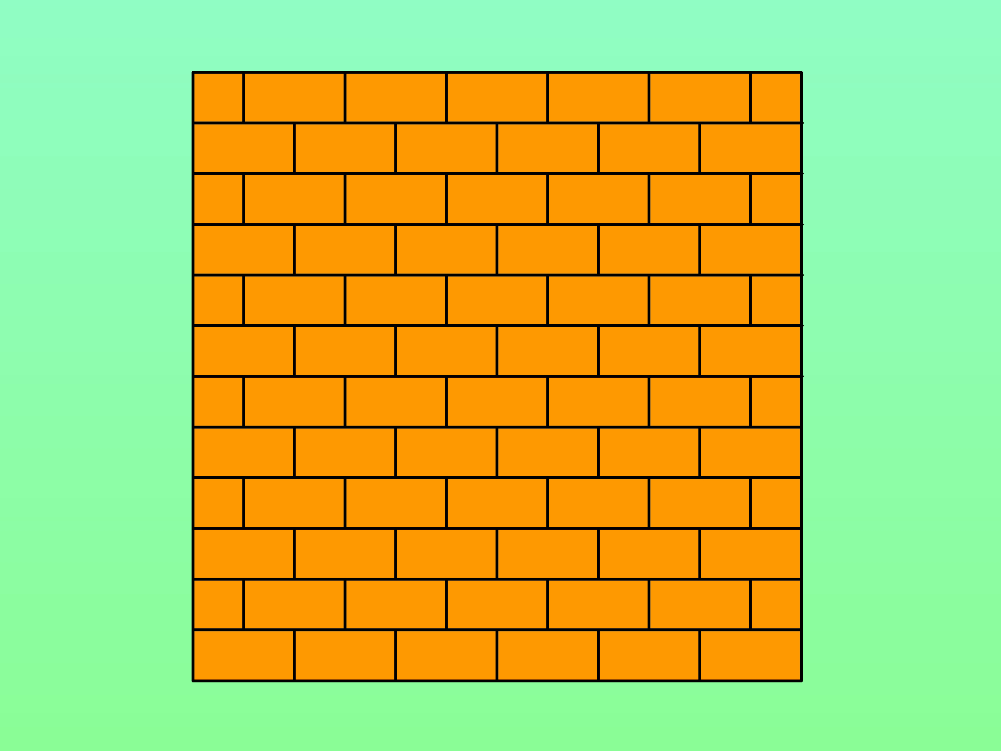 3200x2400 How To Draw A Brick Wall 6 Steps (With Pictures)