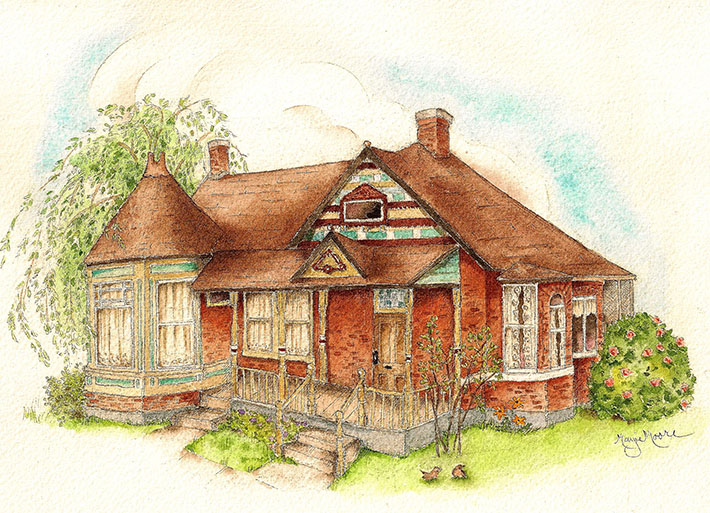 710x513 Learn How To Draw And Paint Brick With This Free Tutorial