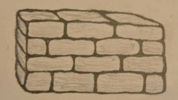 570x320 Drawing A Brick Wall How To Draw A Brick Wall