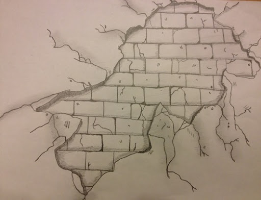 512x392 Girl Gone Art Practice Drawing A Brick Wall (Part 2)