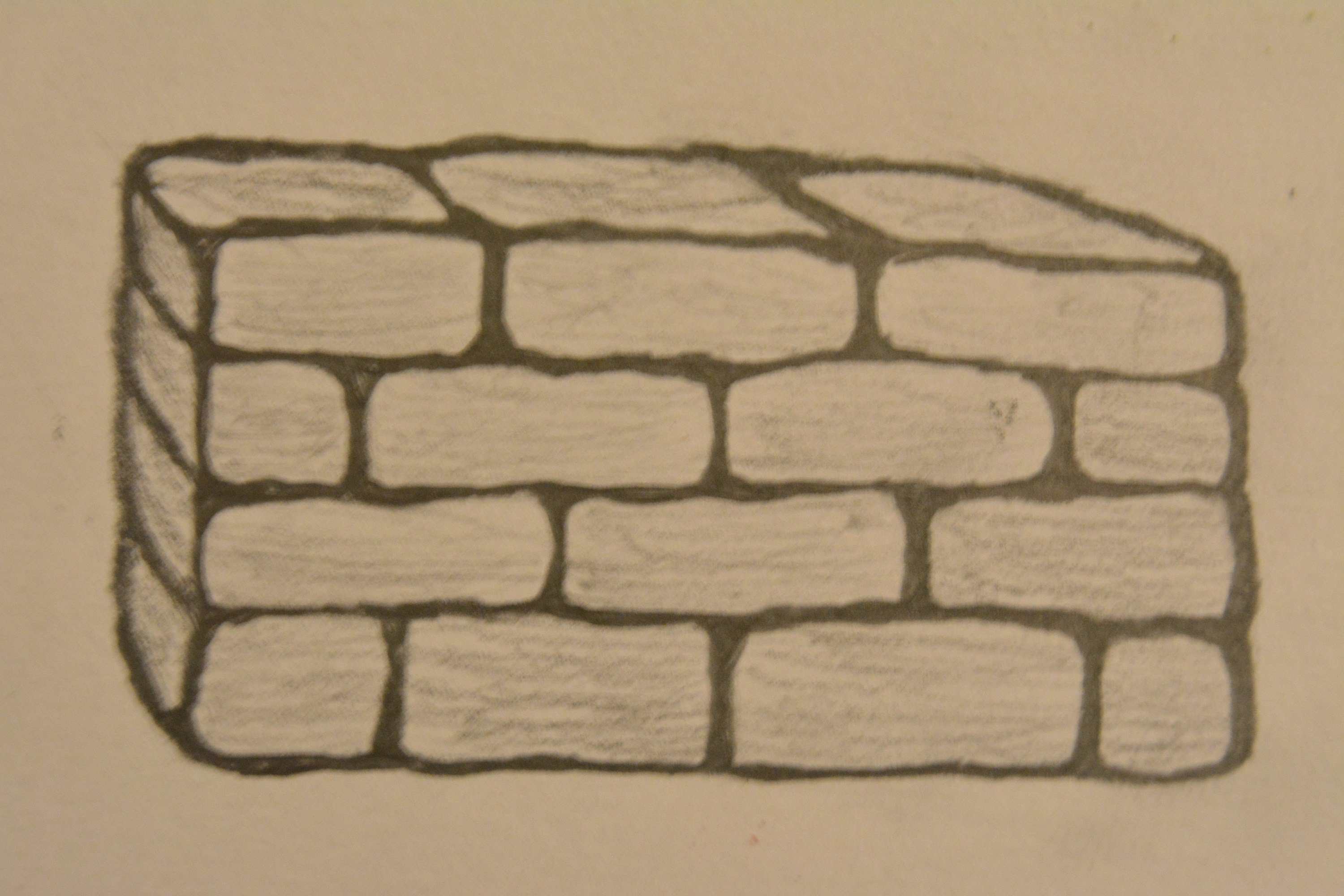 3000x2000 How To Draw A Brick Wall