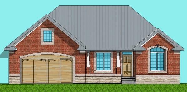 600x295 House Designs Single Floor Low Cost House Floor Plans 3 Bedroom