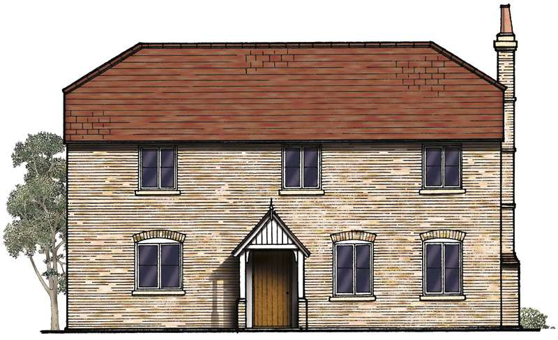 800x487 Traditional Two Storey Brick Home With Balcony Homebuilding