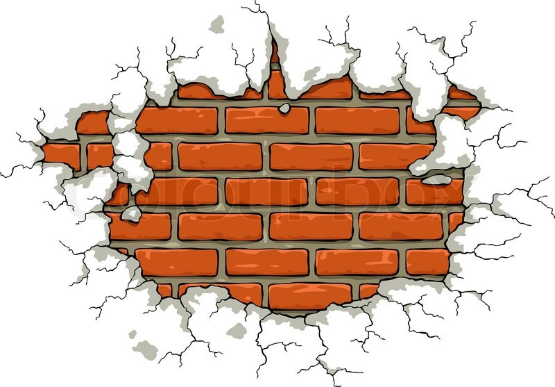 brick wall drawing at getdrawings com free for personal clipart of baseball bat clip art of basketball players silhouettes
