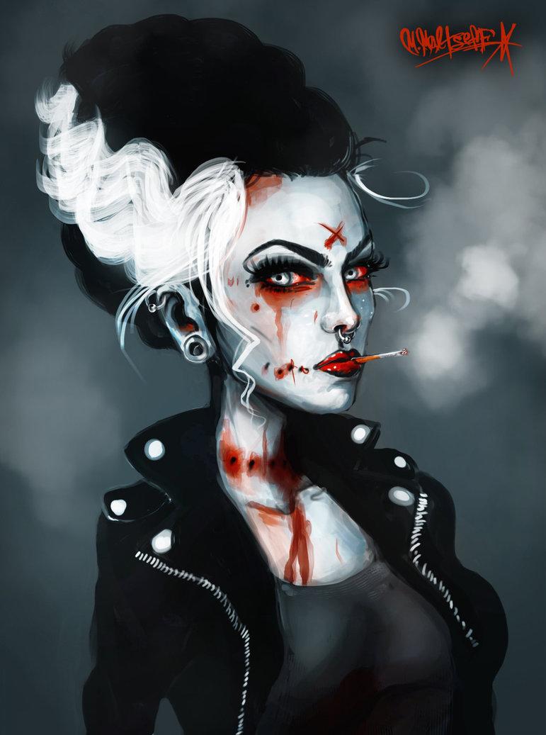 771x1037 Bride Of Frankenstein By Lacr1math